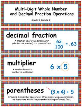 Grade 5 Module 2: Multi-Digit Whole Number