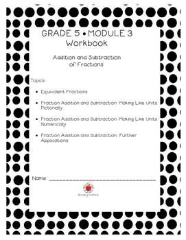 Grade 5 Math Module 3 KID FRIENDLY Workbook