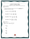 Grade 5 Module 3 Math Review Packet