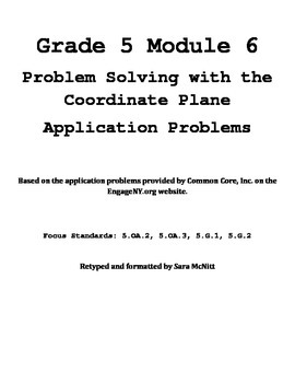 Grade 5 Module 6 Application Problems