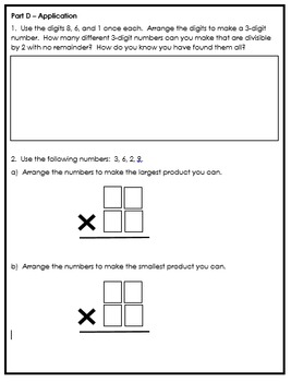 Grade 5 Multiplication and Division Quizzes and Unit Assessment