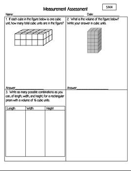 Grade 5 NEW Indiana Math Standards Based Assessment Pack