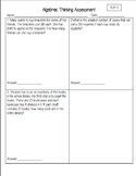 Grade 5 NEW Indiana Math Standards Based Assessment Pack