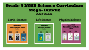Grade 5 NGSS Complete Curriculum Mega-Bundle