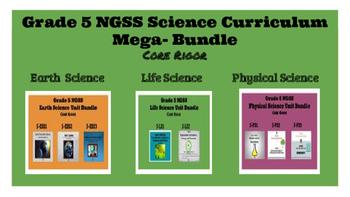 Grade 5 NGSS Complete Curriculum Mega-Bundle