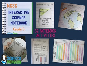 5th Grade NGSS Interactive Science Notebook