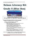 Grade 5 Nelson Literacy Kit (Blue Box) Human Body Series #5 to 8