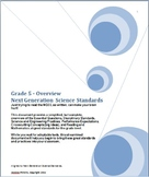 Grade 5 Next Generation Science Standards Simplified Overview