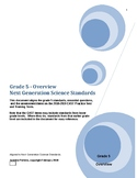 Grade 5 Next Generation Science Standards and CAST Practice/Training Test Items