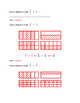Grade 5 Numbers in Fractions Pre and Post Assessments