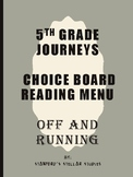 Grade 5: Off and Running Journeys Resource Choice Menu Board Rubric