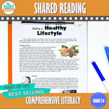 Shared Reading Bundle 6 Ontario Curriculum