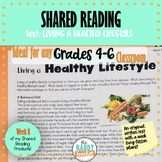 Shared Reading Text and Lessons: Living a Healthy Lifestyle