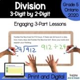 Grade 5 Ontario Math Three Part Lesson Division