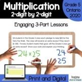 Grade 5 Ontario Math Three Part Lesson Multiplication