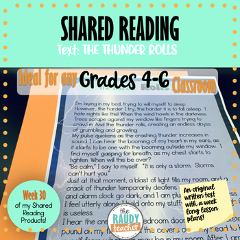 Shared Reading Narrative: Ontario Curriculum
