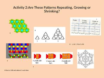 Grade 5 Pattern Critical Thinking Activities