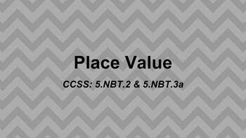 Grade 5 Place Value Slides for Google Classroom