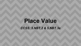Grade 5 Place Value Slides for Google Classroom