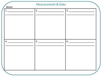 Grade 5 QR Code Task Cards Measurement & Data Common Core aligned