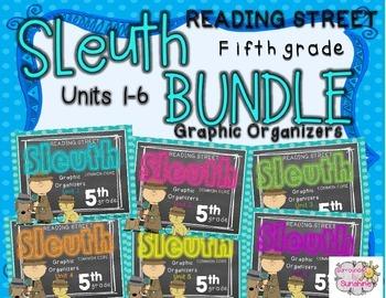 Grade 5 Reading Street SLEUTH Units 1-6 BUNDLE