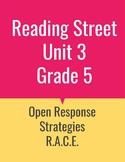 Grade 5 Reading Street Unit 3 Open Response Strategies BUNDLE