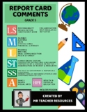Grade 5 Report Card Comments and Learning Skills