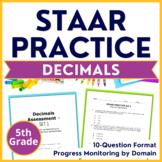 Grade 5 STAAR Prep {Decimals} TEKS 5.3D 5.3E 5.3F 5.3G 5.3K