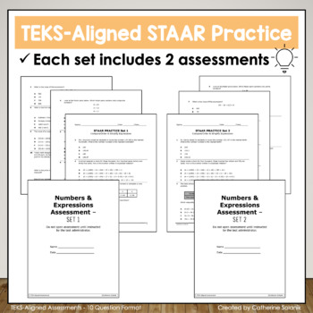 5th Grade Math STAAR Test Prep {Data Analysis & Financial Literacy}