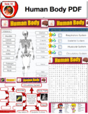 Grade 5 Science Bundle - Human Body, Changes in Matter,  Force and Motion