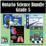 Grade 5 Science Bundle - Ontario