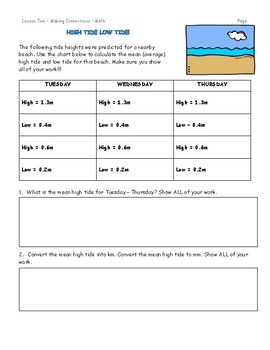 Grade 5 Science Fusion Unit Eleven Interactive Notebook/Notebook Template