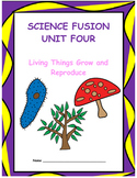 Grade 5 Science Fusion Unit Four Interactive Notebook/Notebook Template