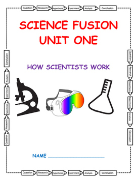 Grade 5 Science Fusion Unit One Interactive Notebook
