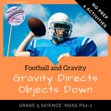 Grade 5 Science: Gravity Directs Objects Down - Football