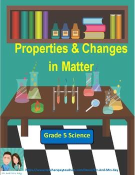 grade 5 science matter games