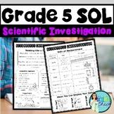 Grade 5 Science SOL Review Booklet - Scientific Investigation