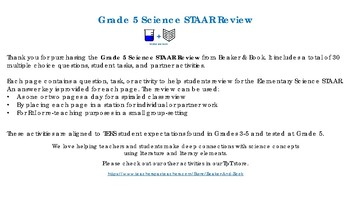 Grade 5 Science STAAR Review