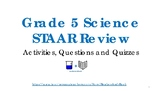 Grade 5 Science STAAR Review