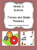 Grade 5 Science Unit 3 - Forces and Simple Machines - NL Curriculum
