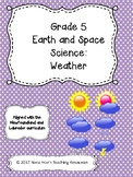 Grade 5 Science Unit 4 - Weather