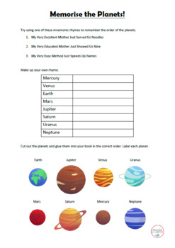 Grade 5 Science Unit - Our Solar System - Australian Curriculum