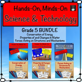 Grade 5 Science and Technology Centres Bundle (Ontario Cur