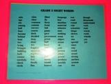 Grade 5 Sight Words, Word Wall