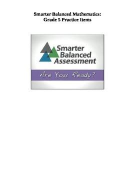 Grade 5 Smarter Balanced Released Practice Items