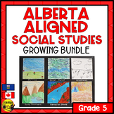 Grade 5 Alberta Social Studies Bundle