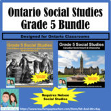 Grade 5 Social Studies - First Nations & Government Bundle - V.2 (Ontario)