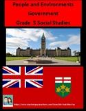 Grade 5 Social Studies - Government (Ontario)