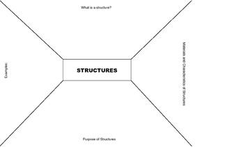 Grade 5 Structure Brainstorm Placemat