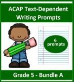 Grade 5_ ACAP Writing - Six Prompts _(Bundle A)